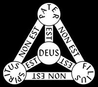 Jesús no es el Padre ni el Espiritu, éste tampoco es el Padre pero todos son Dios